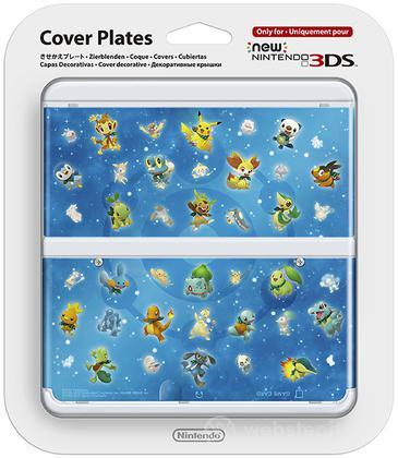 Nintendo New 3DS Cover Pokemon Super M.D
