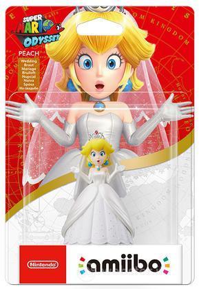 Amiibo Super Mario Ody. Peach Wedding