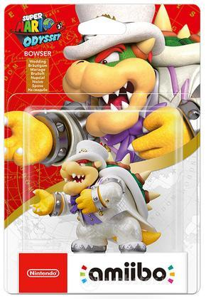 Amiibo Super Mario Ody. Bowser Wedding