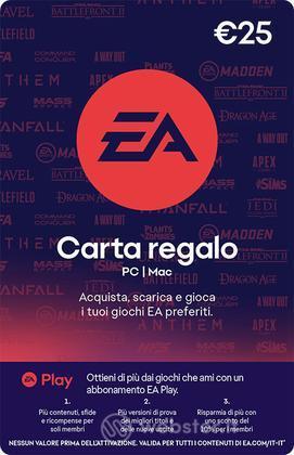 EA GIFT CARD 25 Euro PIN