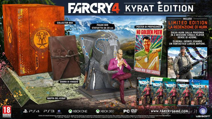 Far Cry 4 Kyrat Coll. Edition
