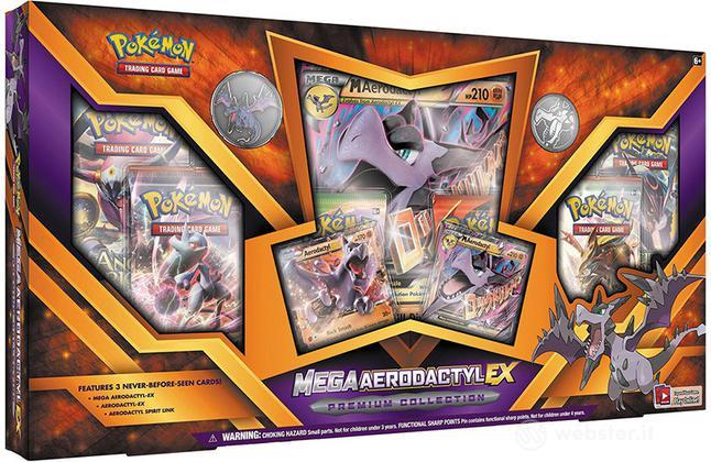 Pokemon Mega Aerodactyl-EX Prem.Coll UK