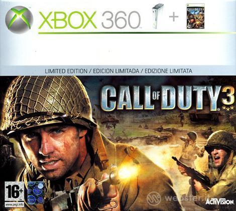 XBOX 360 Pro Call of Duty 3 Bundle