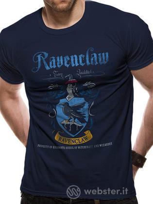 T-Shirt Harry Potter-CorvoN. Quidditch-L