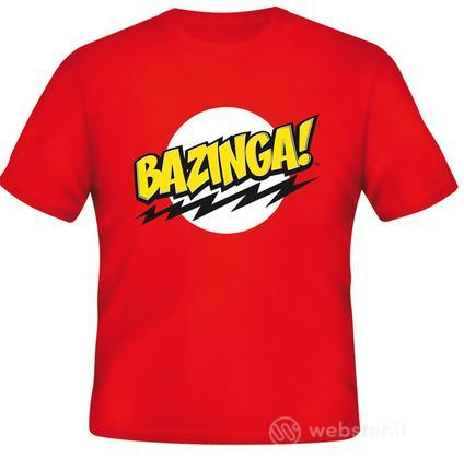 T-Shirt Big Bang Theory Bazinga XL