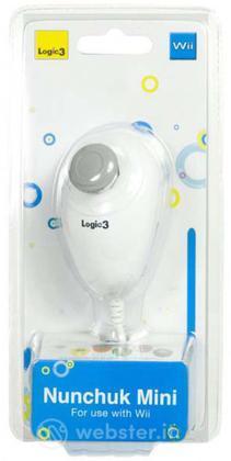 Wii Mini Nunchuck Bianco