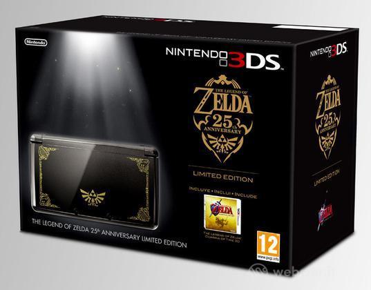 Nintendo 3DS TheLegendofZelda 25Ann.Ltd