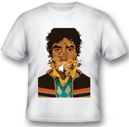 T-Shirt Big Bang Theory Raj Nosound XXL