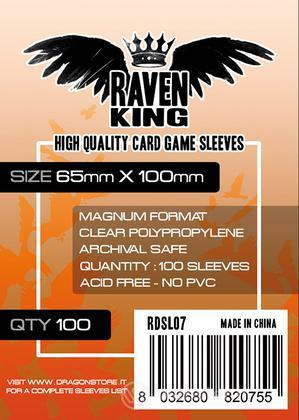 RAVEN KING - Bustine Protettive 65x100mm