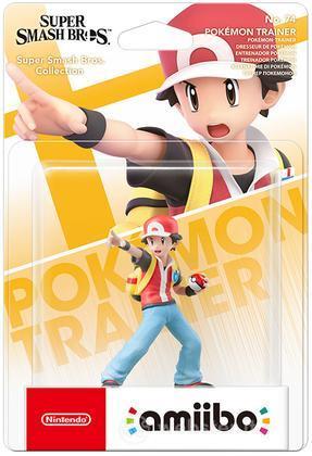 Amiibo Pokemon Trainer-SuperSmash Br.Ult