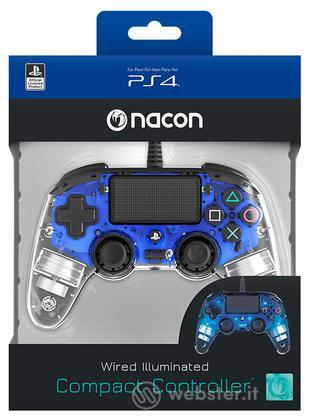 NACON Ctrl Wired Blu Luminoso PS4