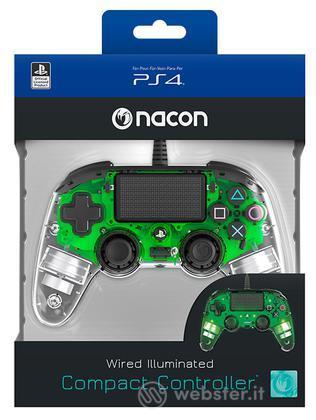 NACON Ctrl Wired Verde Luminoso PS4