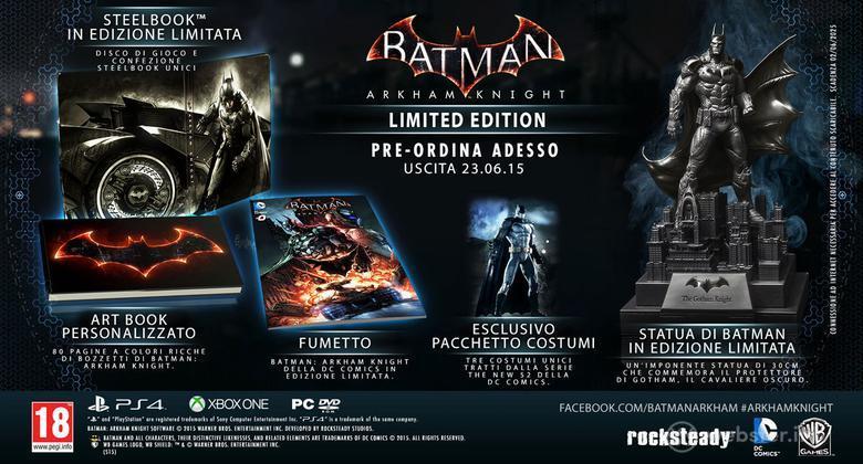 Batman Arkham Knight Collector's Ed.