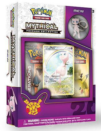 Pokemon Mythical Pokemon Coll. Box UK