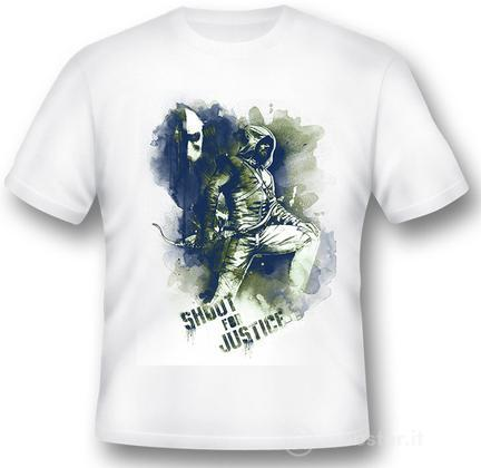 T-Shirt Arrow Shoot For Justice XL