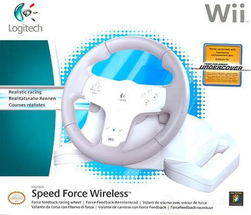 LOGITECH WII Volante Speed ForceWireless