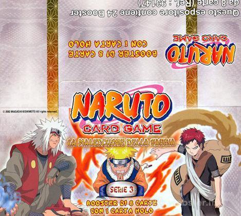 Naruto Buste La Maledizione Sabbia 24 pz