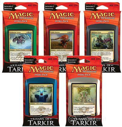 Magic I Khan di Tarkir Intro Pack