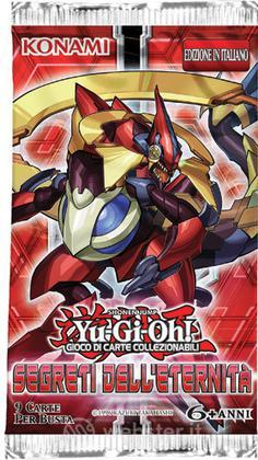 Yu-Gi-Oh! Segreti Eternita' busta