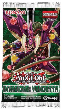 Yu-Gi-Oh! Invasione: Vendetta Buste