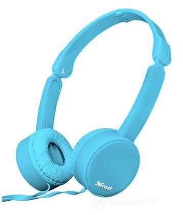 TRUST Nano Foldable Headphones - blue
