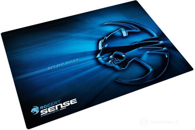 ROCCAT Mousepad Sense Chrome Blue