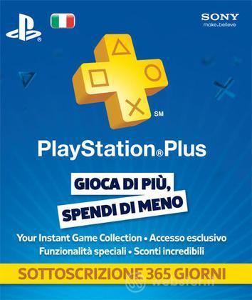 Sony PSN PlayStation Plus Card 12 Mesi
