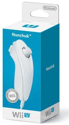 NINTENDO Wii U Ctrl Nunchuck Bianco