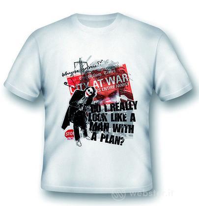 T-Shirt Joker A Man With a Plan XL