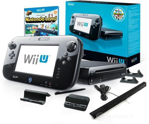NINTENDO Wii U Premium Pack Black