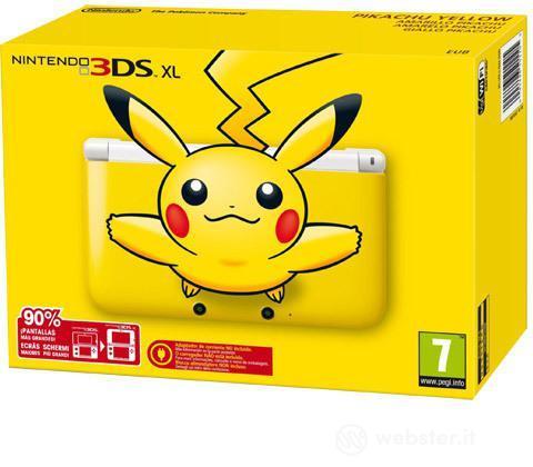 Nintendo 3DS XL Yellow Pikachu Edition