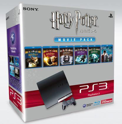 Playstation 3 250 Gb + Harry P. 6Film BD