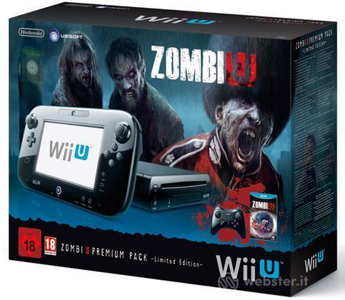 NINTENDO Wii U Zombi U Premium Pack