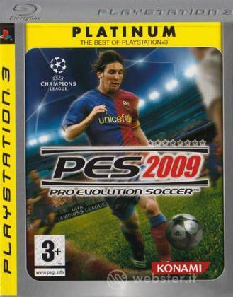 Pro Evolution Soccer 2009 Platinum (UK)