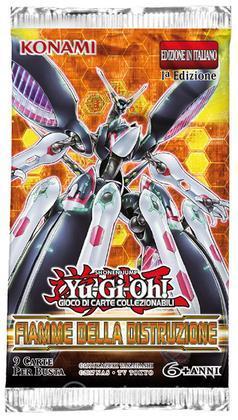 Yu-Gi-Oh! Fiamme della Distruzione busta