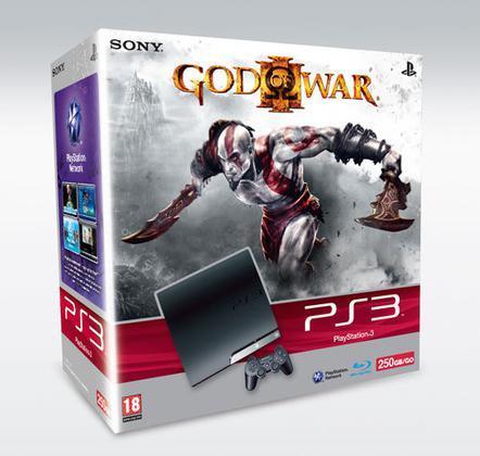 Playstation 3 250 Gb + God Of War III