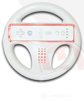 WII GLO Wheel Rosso