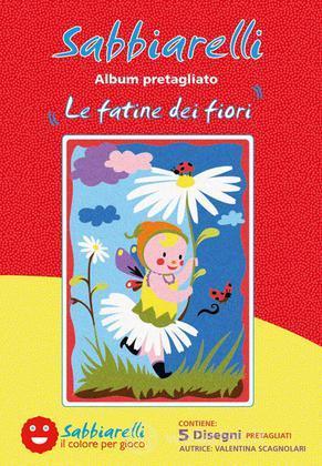 Sabbiarelli Album Le Fatine dei Fiori