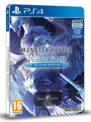 MonsterHunterWorld:Iceborne Steelbook Ed