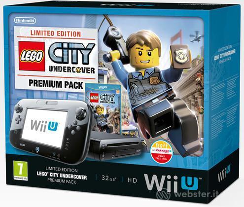 Wii U LEGO City Undercover Premium Pack