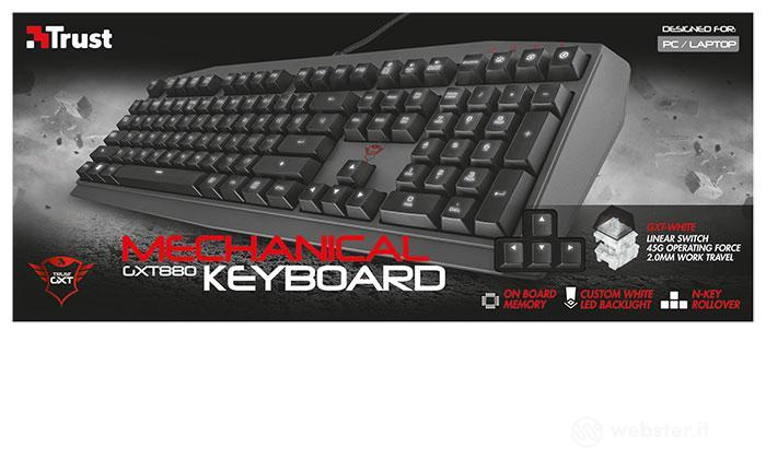 TRUST GXT 880 Mechanical Gaming Keyboard