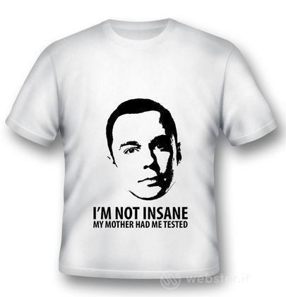 T-Shirt Big Bang Theory Not Insane M