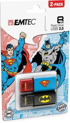 USB Key 8GB DC COMICS Batman+Superman 2D