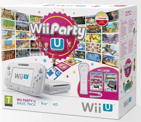 Wii U Wii Party U Basic Pack