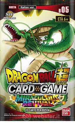 DragonBall Super CardGame Buste Pack 5