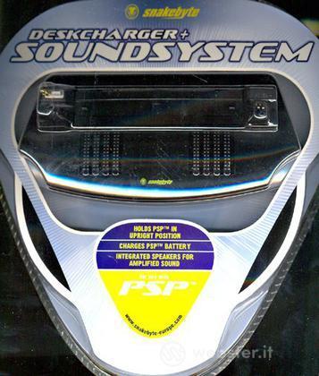 SNAKEB PSP - Desk Charger e Sound System