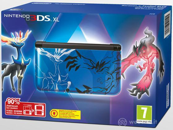 Nintendo 3DS XL Blue Pokemon X&Y Ltd Ed.