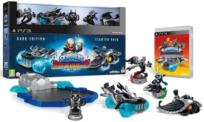 Skylanders SuperChargers St.Pack Dark Ed