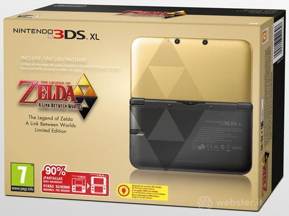 Nintendo 3DS XL Zelda:L.B.W. Ltd Edition