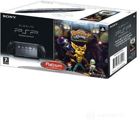 PSP Black+Ratchet & Clank L'Alt.N.C. PLT
